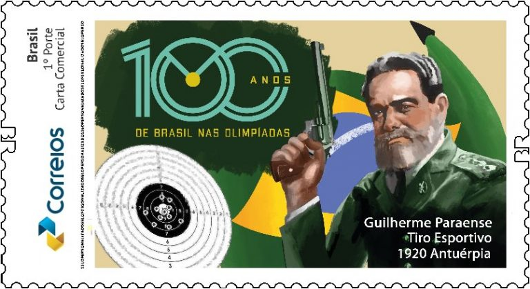 100 anos da primeira medalha olímpica do BRASIL